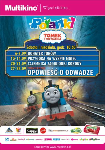 Tomek i Przyjaciele, plakat promocyjny