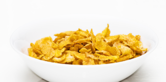 Corn Flakes bez glutenu. Wow.