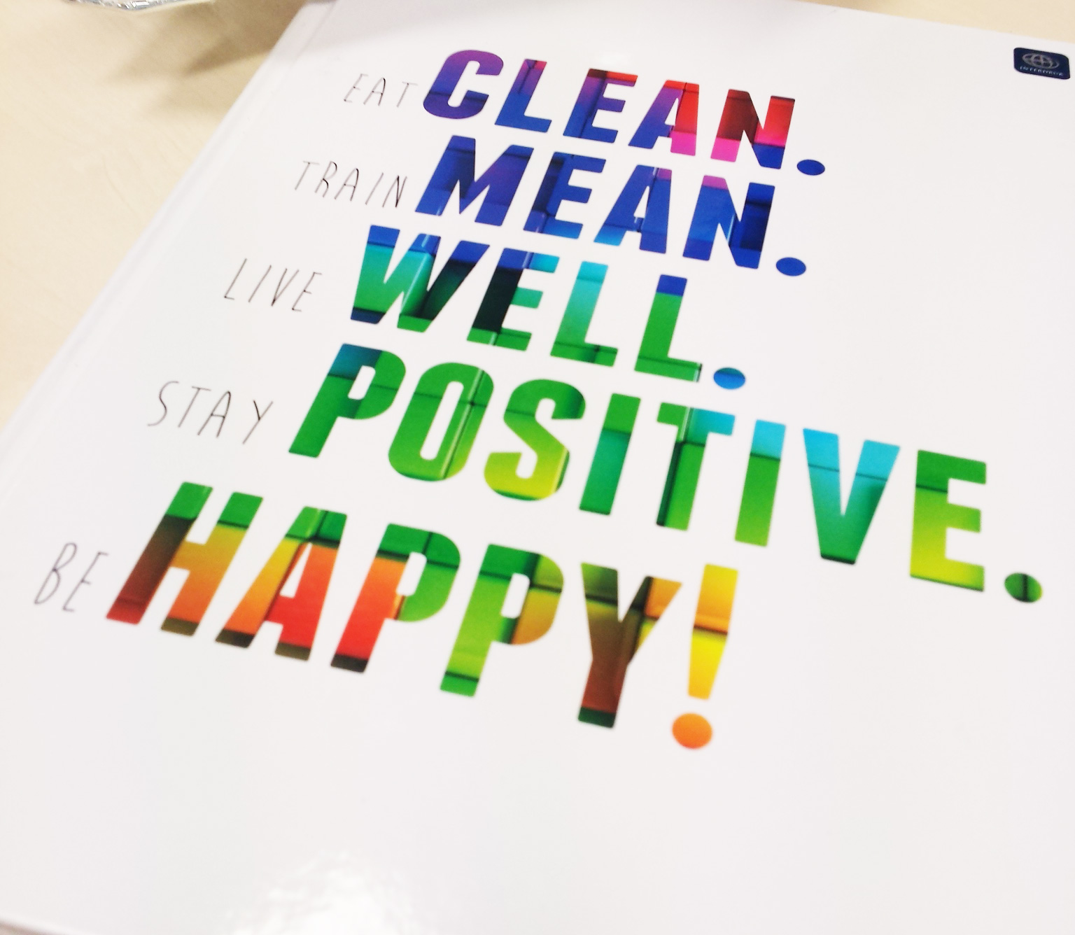 Clean mean well positive happy