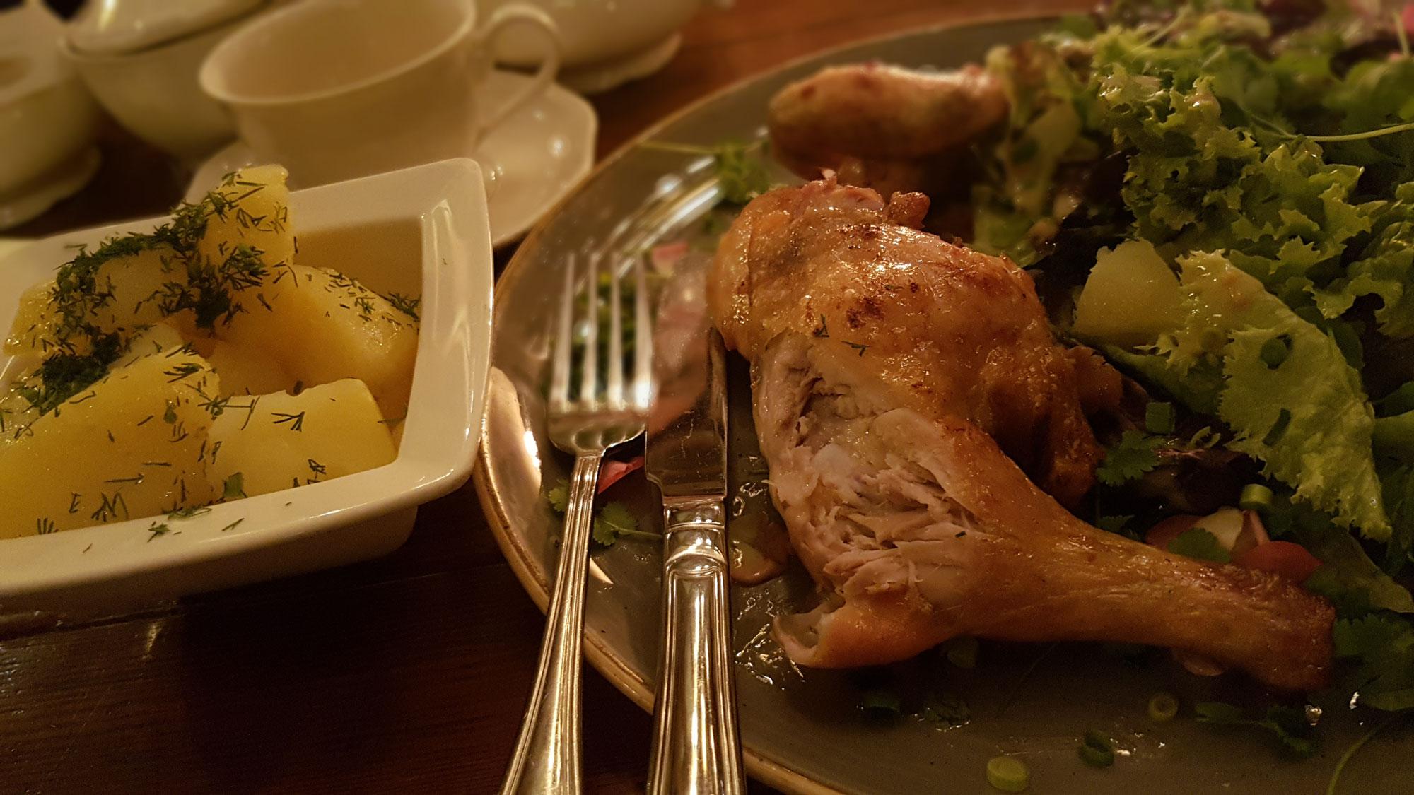 Połówka kurczaka zagrodowego