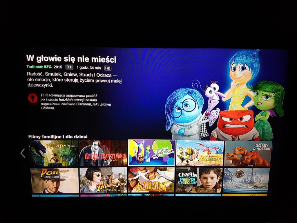 Netflix na PS4 - Sekcja dla dzieci