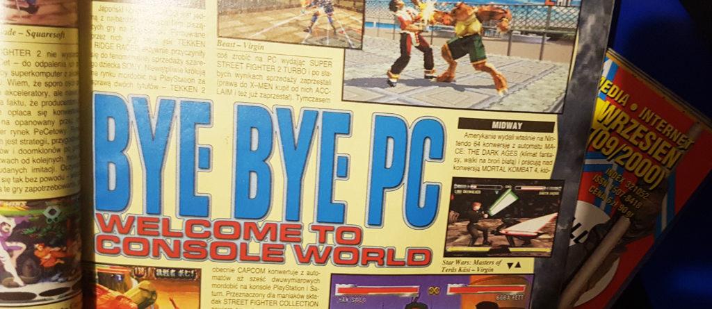 Bye bye PC