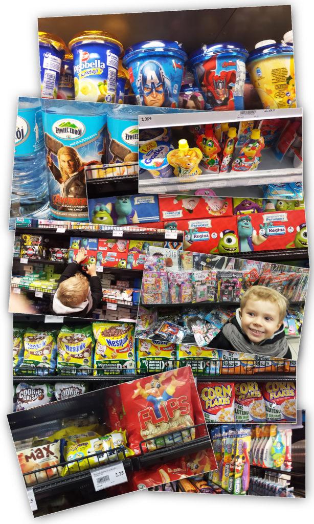"""W sklepie jest mnóstwo produktów """"dla dzieci"""""""