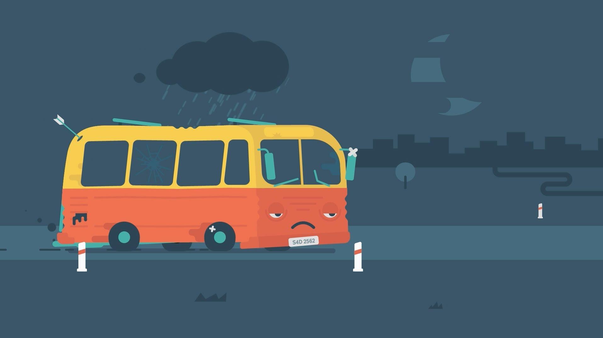 Smutny Autobus – może brzydki, ale odniósł niebywały sukces!