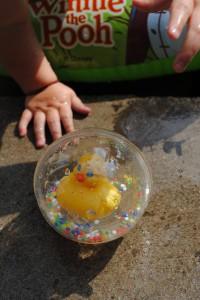 Basenowe zabawki! mistrz i nie boją się wody