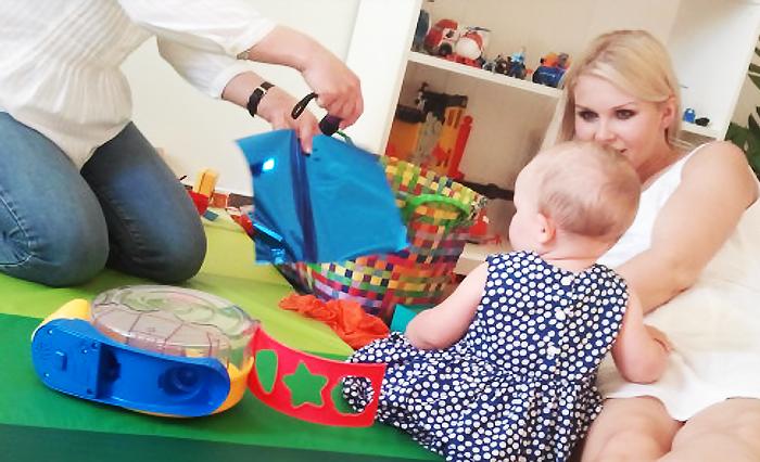 Zabawy z małym dzieckiem muszą być banalne