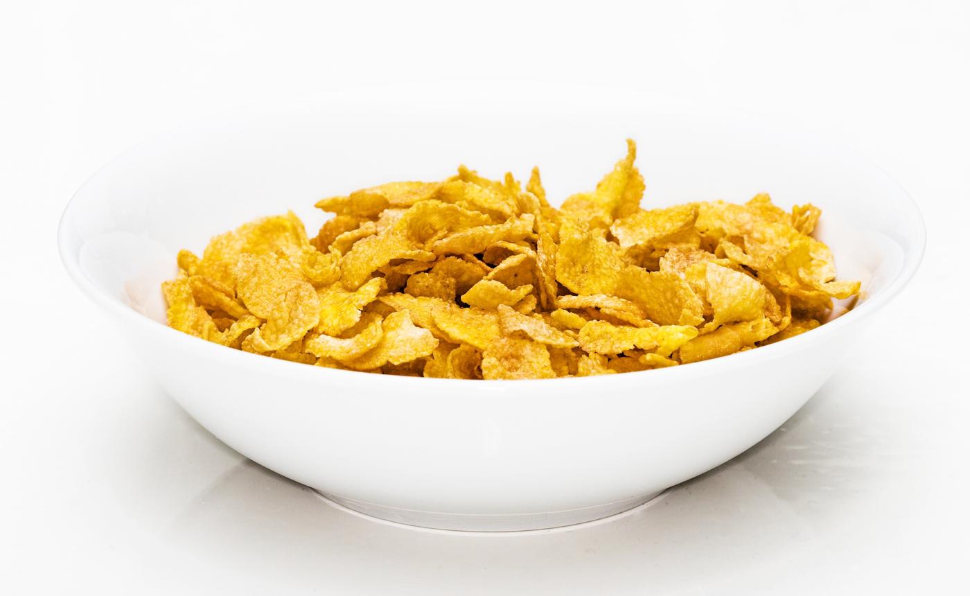 Corn Flakes bez glutenu. Wow.