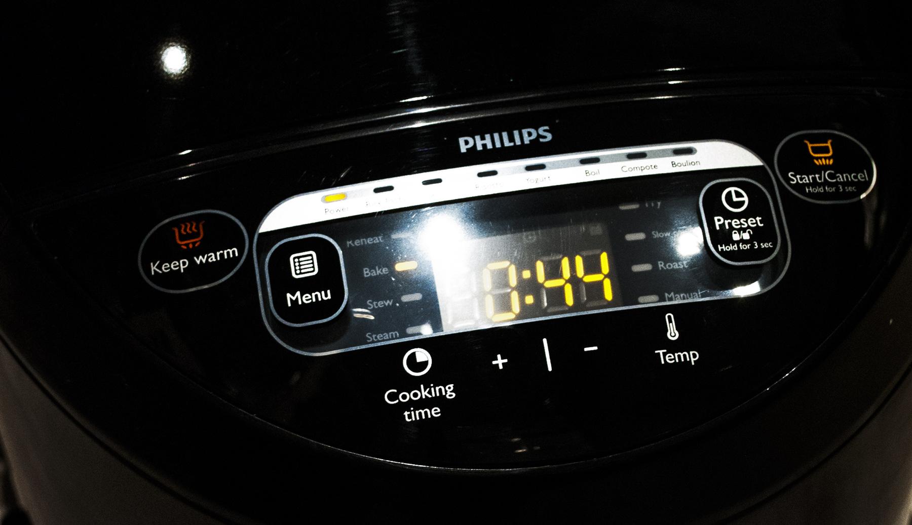 Philips MultiCooker – czarna kuchnia w wersji mobile