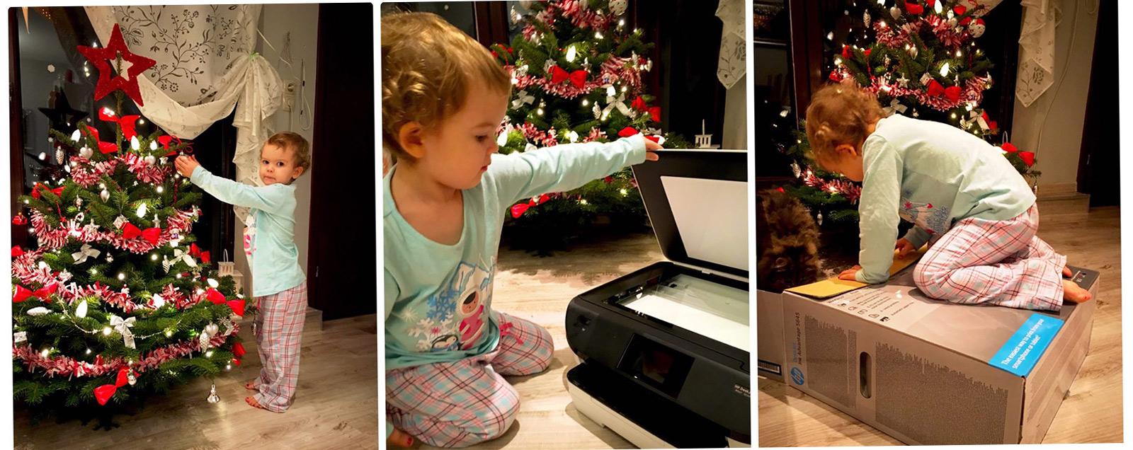 Nowa drukarka atramentowa w domu
