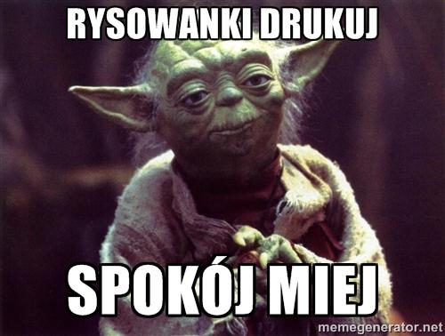Mistrz Yoda ze Star Wars.