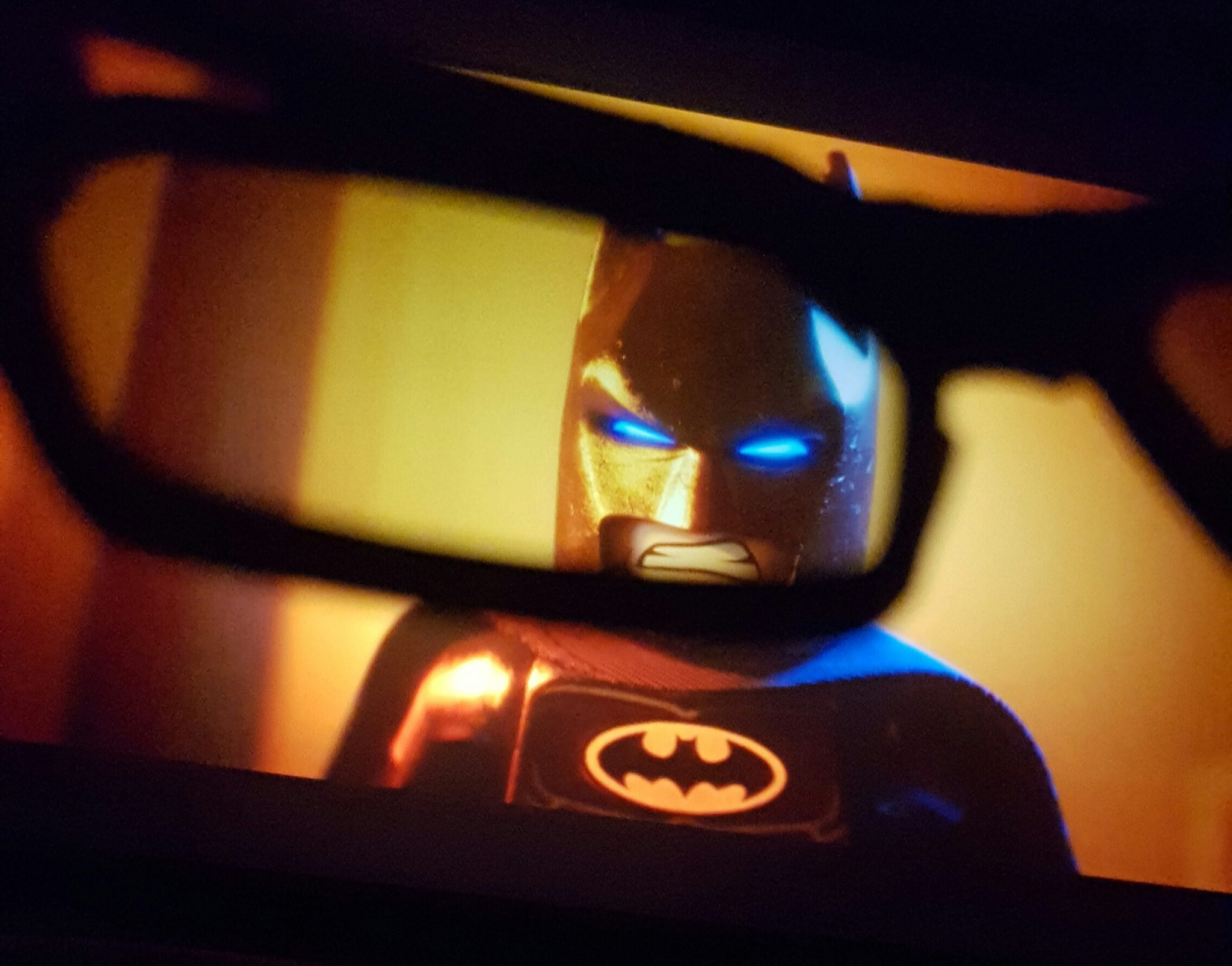 Batman versus Balerina.