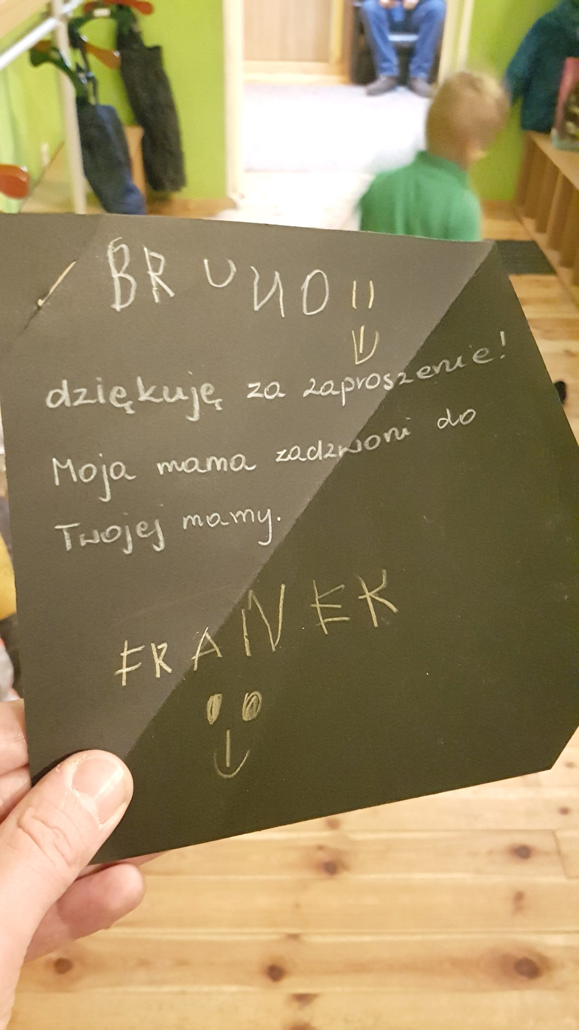 Franek odpisał