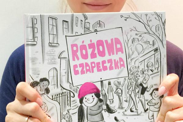 Czapeczka różowa, książka