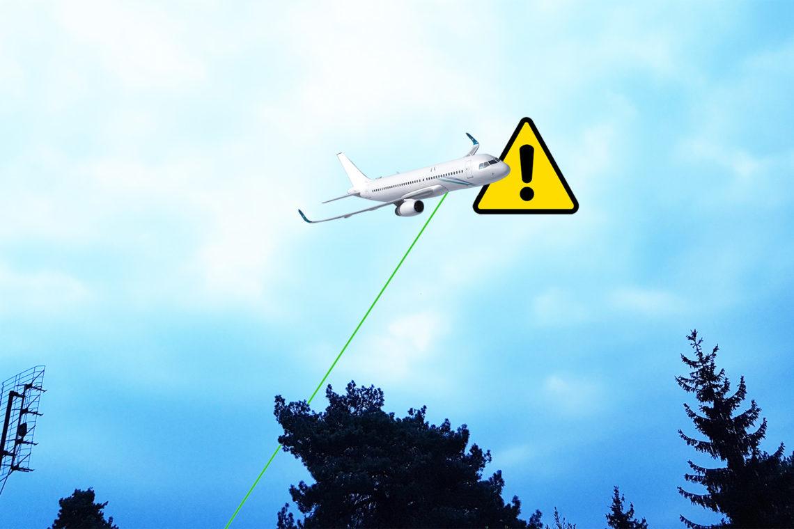 Laser to nie zabawka!
