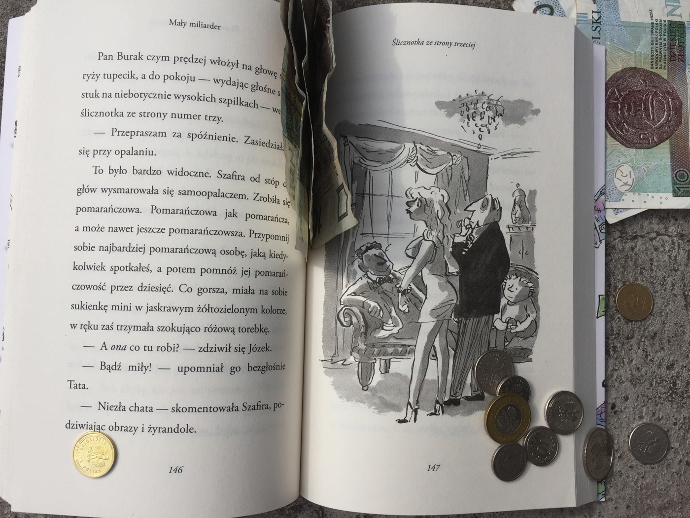 Mały Miliarder - książka dla dzieci