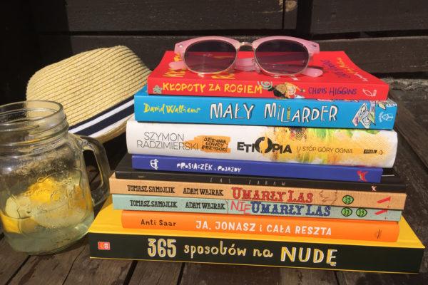 Stos książek dla dzieci
