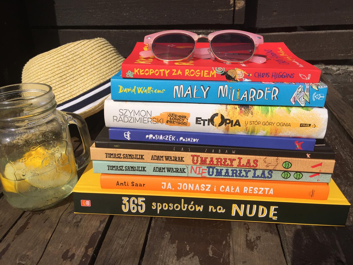 Książki na majowy wyjazd: Mały Miliarder, Prosiaczki i Kłopoty