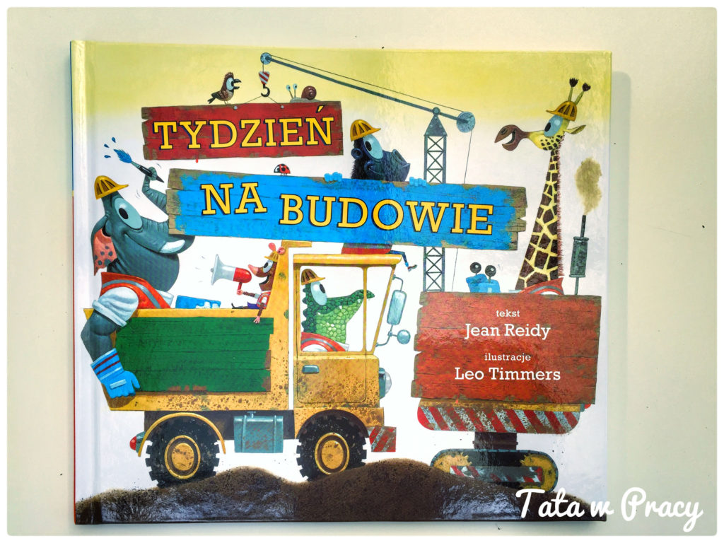 """""""Tydzień na budowie"""", Wydawnictwo Babaryba"""