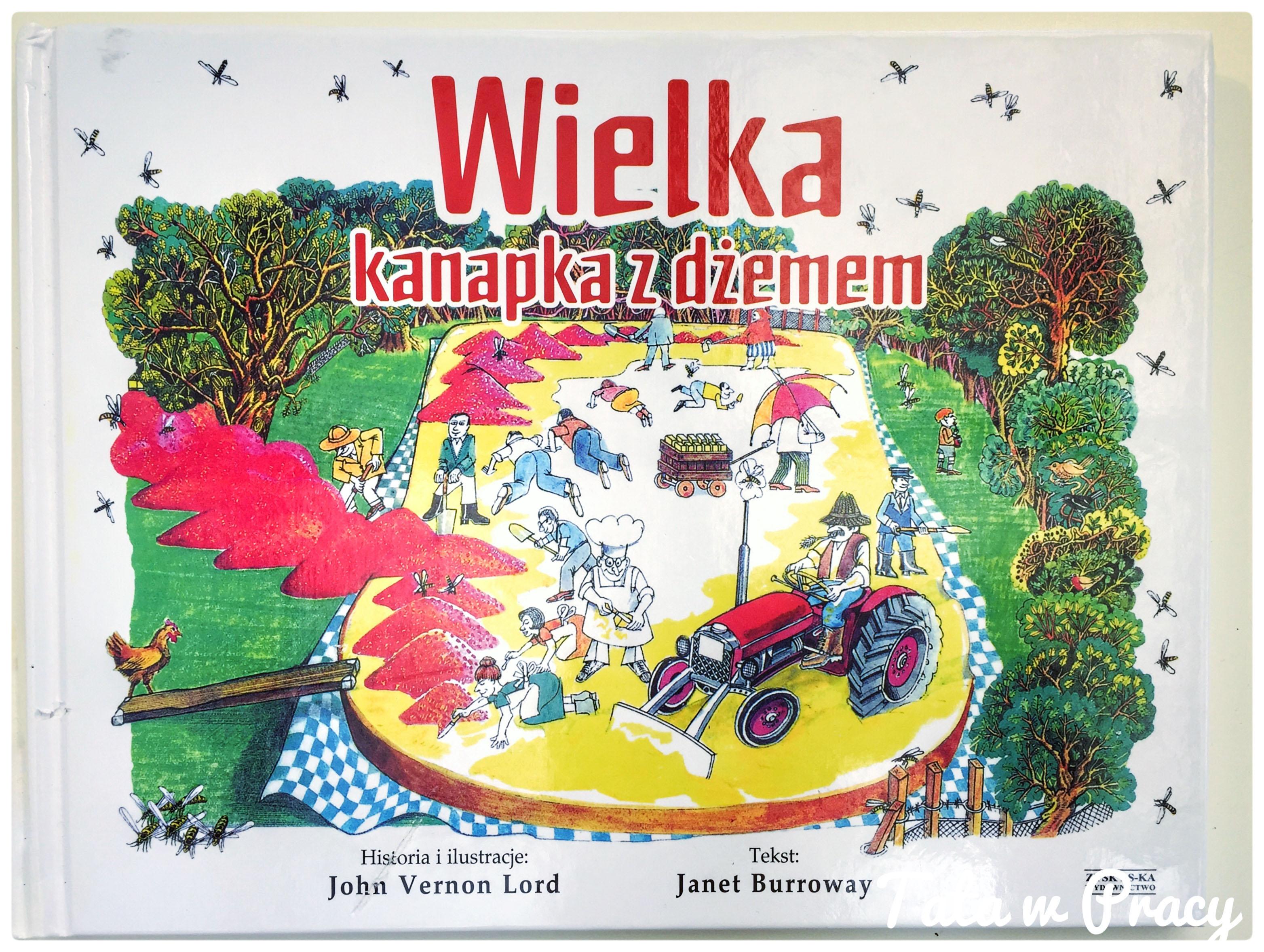 """""""Wielka kanapka z dżemem"""", Wydawnictwo Zysk"""