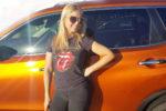 Olga i samochód rodzinny