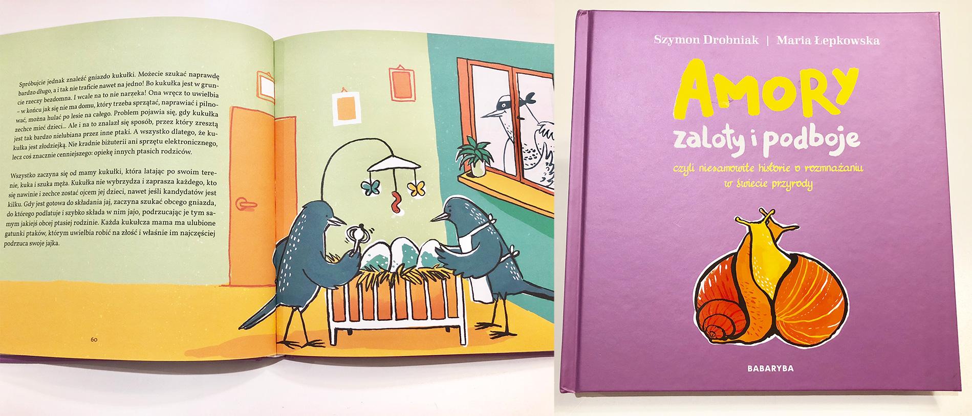 Amory, zaloty i podboje - wydawnictwo Babaryba - cena 42 PLN