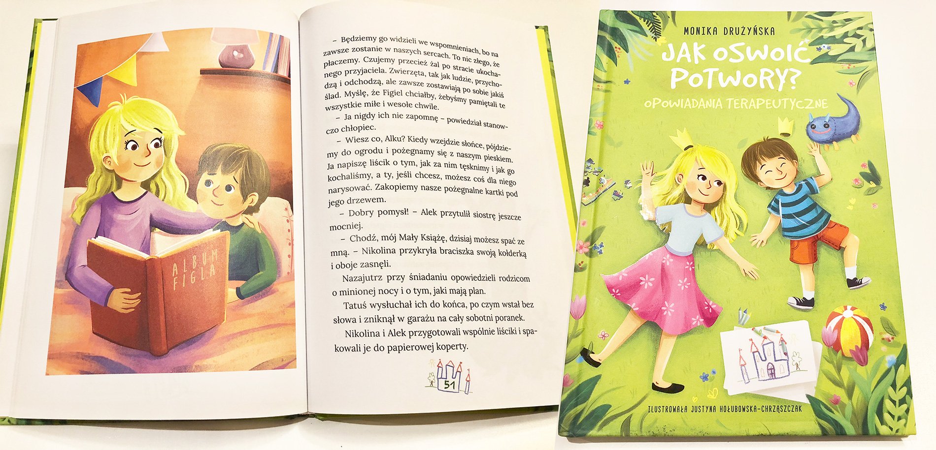 Jak oswoić potwory? - wydawnictwo Skrzat - cena 14,99 PLN