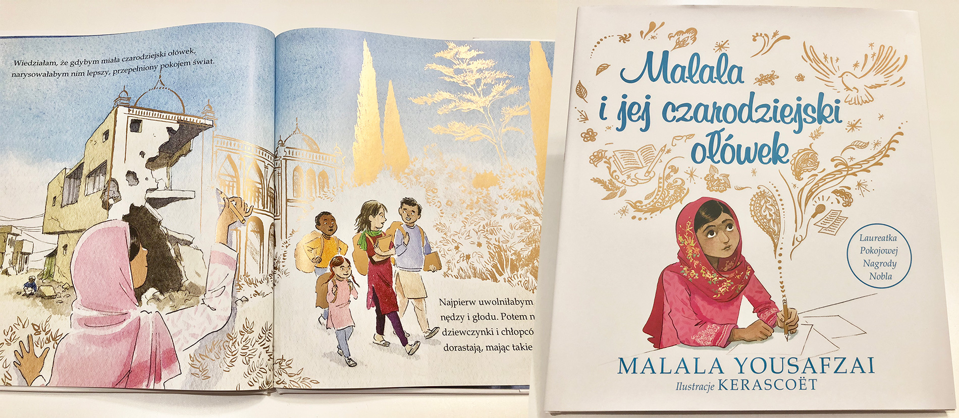 Malala i jej czarodziejski ołówek - wydawnictwo Tekturka - cena 34,99 PLN