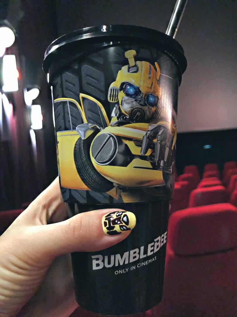 Bumblebee w kinie! Warto pójść.