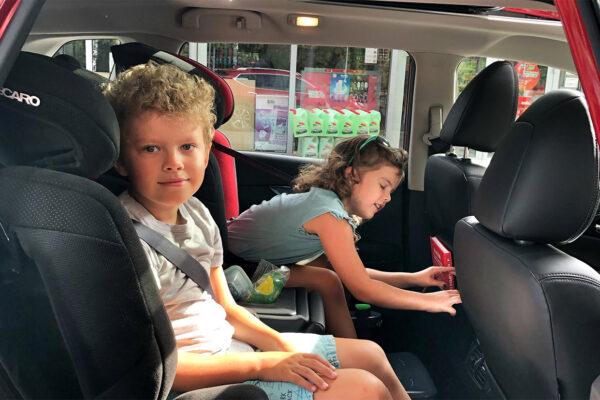 Podnóżek do samochodu dla dzieci