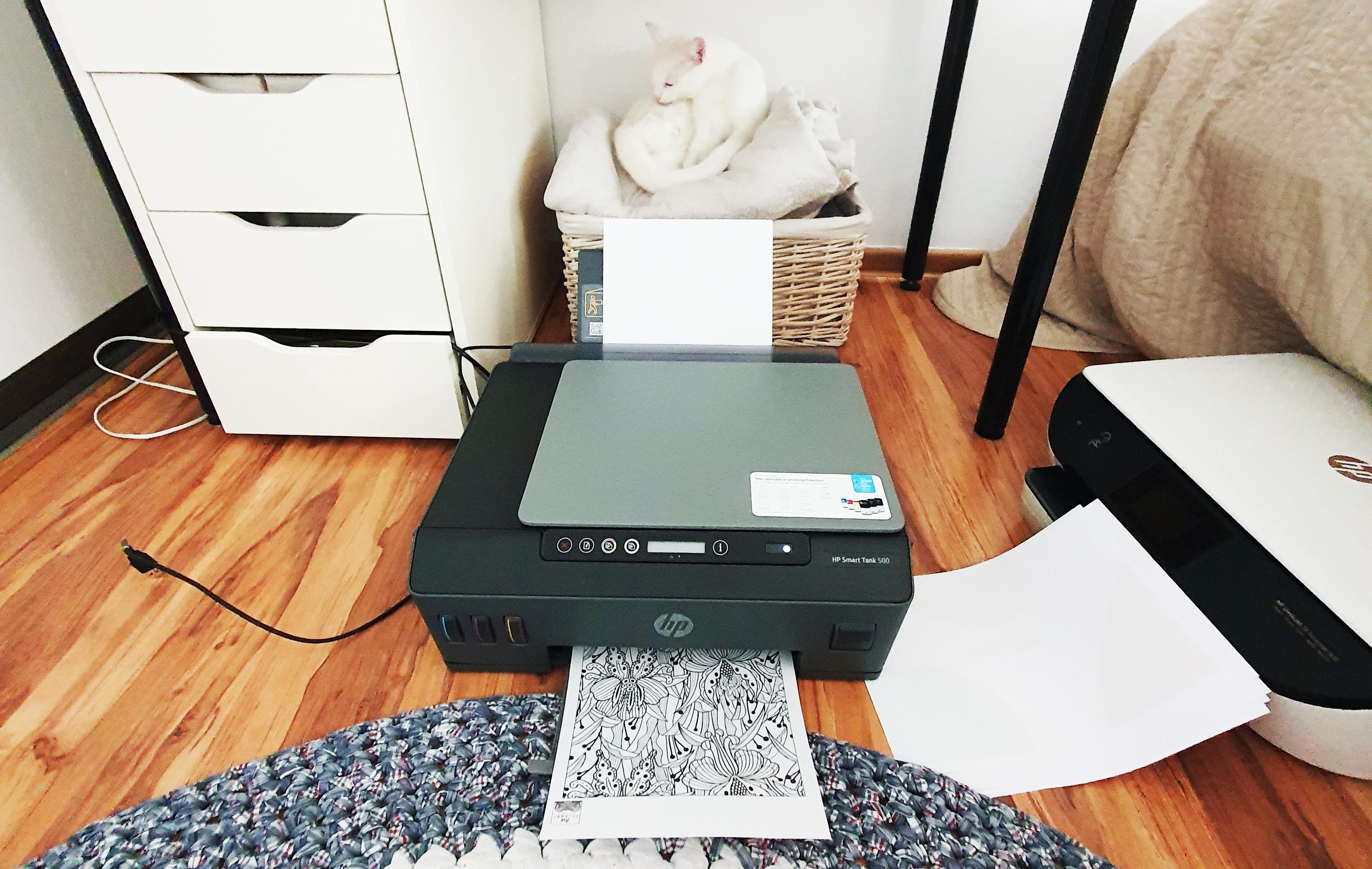 HP Smart Tank 500 – domowa drukarka CMYK