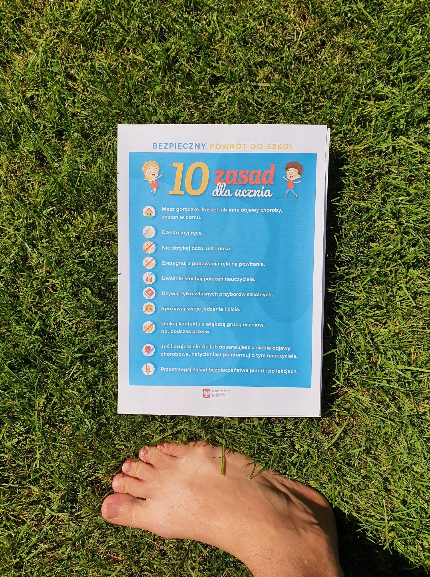 10 zasad higieny ucznia